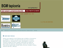 Tablet Preview of bgmtapiceria.cl